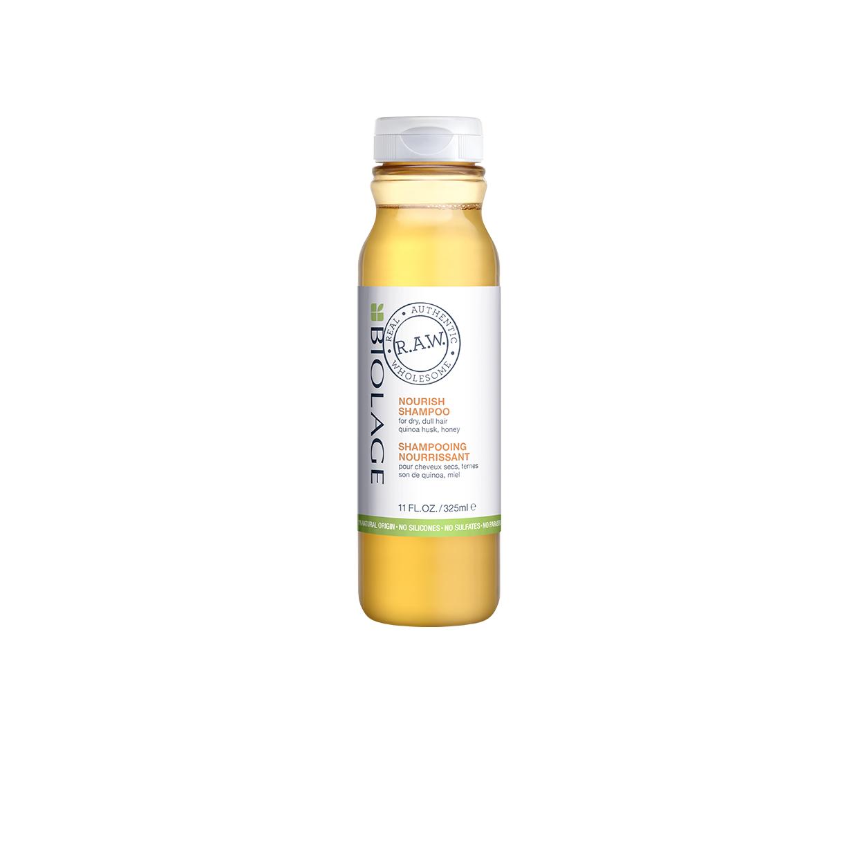Biolage RAW Nourish Dry Hair Shampoo Natural Shampoo for Dry Hair