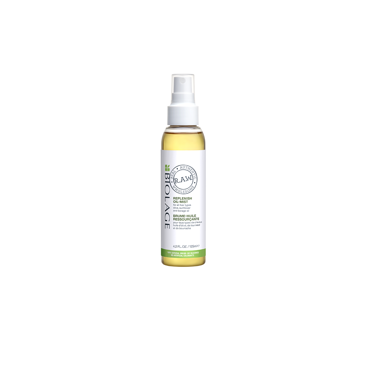 Biolage RAW Re-Plenish Hair Oil Natural Lightweight Leave-In Oil for All Hair Types