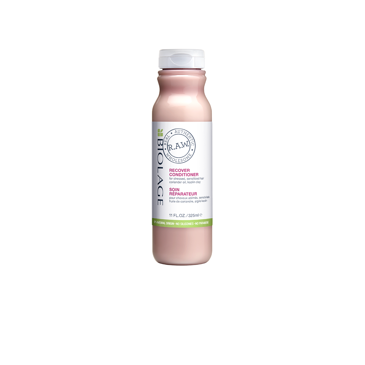 Biolage RAW Recover Damaged Hair Conditioner Natural Replenishing Conditioner for Damaged Hair