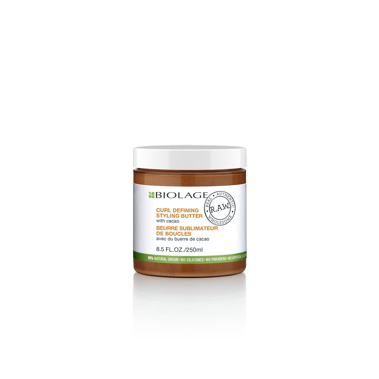 Biolage R.A.W. Natural Curl Defining Styling Butter for More Defined  Curls for Natural Curled Hair