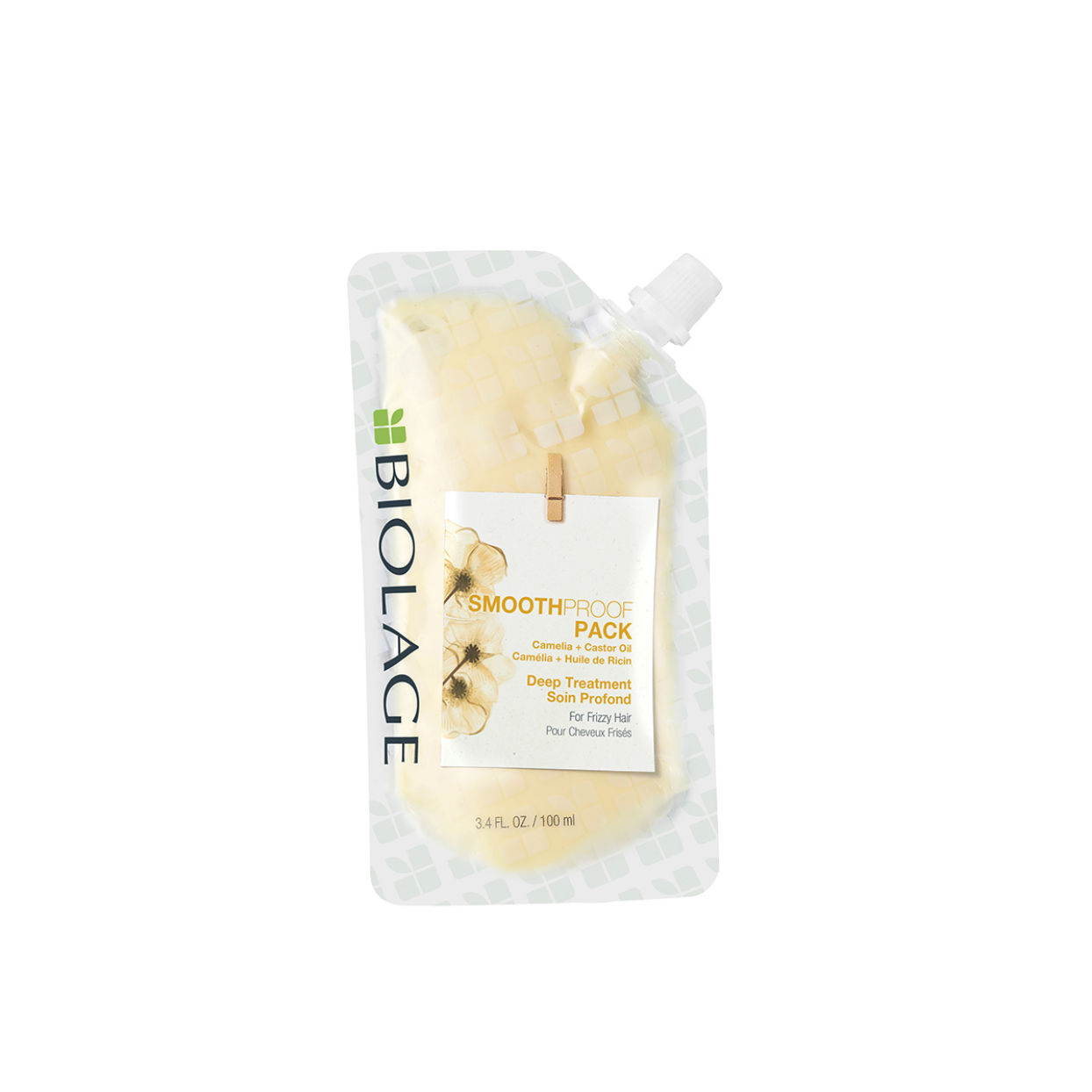 Biolage SmoothProof Deep Treatment Pack Smoothing Deep Treatment Mask for Frizzy Hair2
